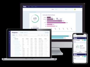 social media advertising case study - healthcare software